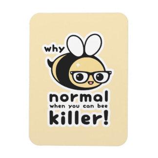 Funny Bumble Bee Pun Magnet