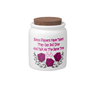 Funny Bunco Prize Winnings Money Jar