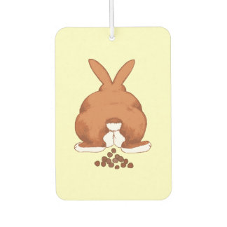 Funny Bunny Butt Air Freshener