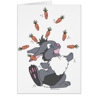 Funny Bunny Card