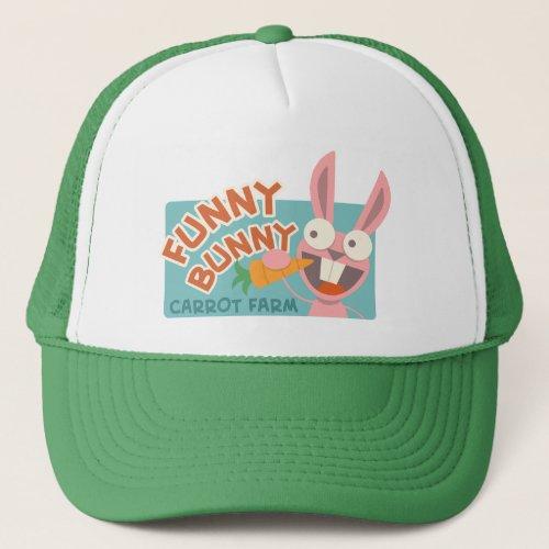 Funny Bunny Farmers Hat