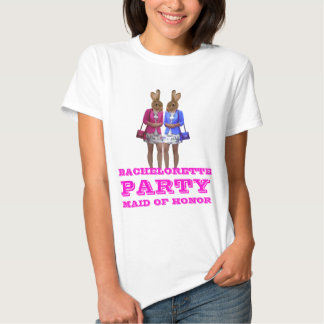 Funny bunny girl Bachelorette  party T Shirt