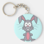 Funny Bunny Keychain