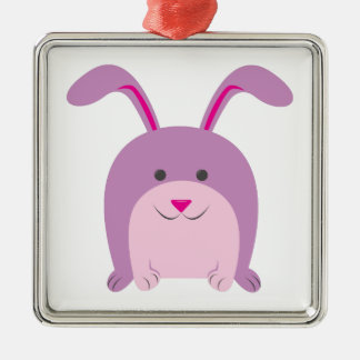 Funny Bunny Christmas Ornaments