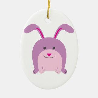 Funny Bunny Christmas Tree Ornaments