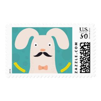 Funny bunny. postage