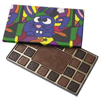 Funny Bunny Rabbit Abstract Art Chocolates