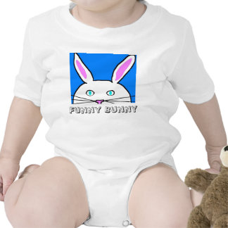 Funny Bunny Rompers