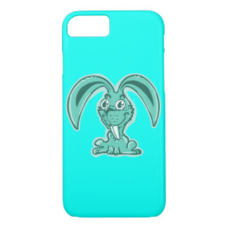 funny bunny sweet rabbit cartoon iPhone 8/7 case