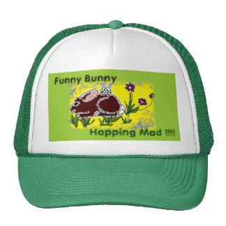 Funny Bunny Trucker Hat