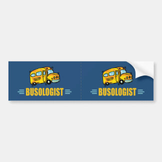 Funny Bus Bumper Sticker