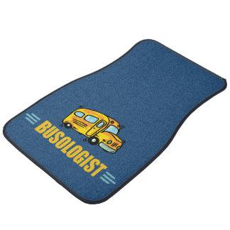Funny Bus Car Mat