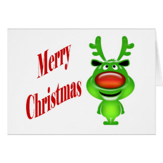 Funny business Christmas holiday wishes Card