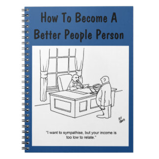 Funny Business Humor Notebook Gift-Bosses