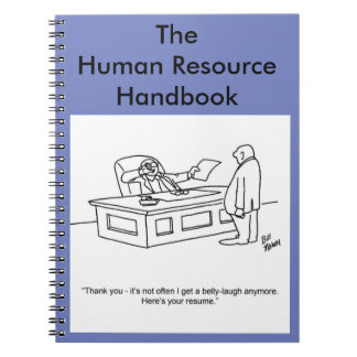 Funny Business Notebook Gift-Human Resource