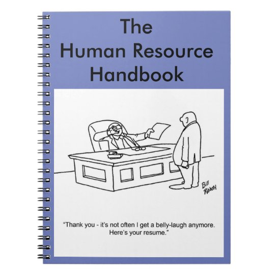 Funny Hr Quotes Of The Day: Funny Business Notebook Gift-Human Resource