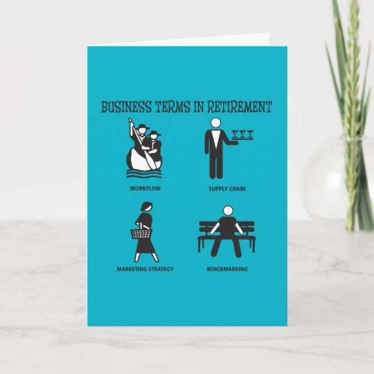 Funny business terms in retirement card zazzle funny business terms in retirement card colourmoves