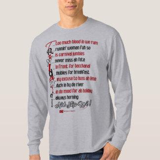 Funny (but true) Trini Description 4 T-Shirt