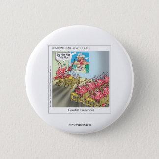 Funny Buttons: Cows: Crawfish Preschool Pinback Button