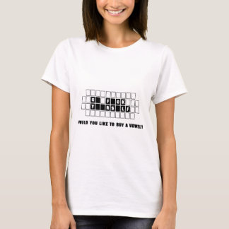 Funny buy a vowel T-Shirt