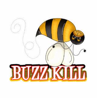 Funny Buzz Kill Bee Photo Cutout