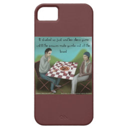 Funny Cajun Chess iPhone 5/5S Case