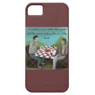 Funny Cajun Chess iPhone 5/5S Case