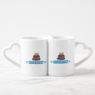Funny Cake Baker's, Decorator's Coffee Mug Set