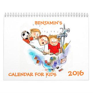 Funny Calendar For Kids 2016