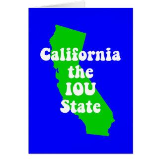 Funny California Card