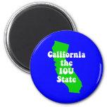 Funny California Fridge Magnet