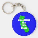 Funny California Key Chain
