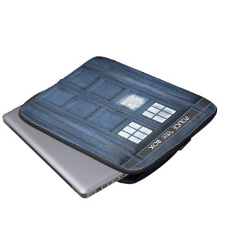 Funny Call Box Laptop Sleeve