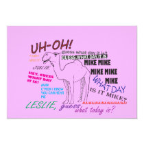 funny camel hump day graduation card
