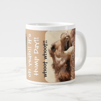 Funny Camel Hump Day Jumbo Mug