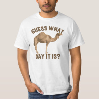 Funny Camel Hump Day T-Shirt