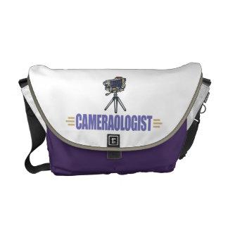 Funny Camera Messenger Bags