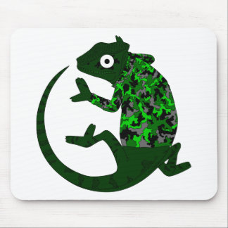 Funny Camo Cameleon Mouse Pad