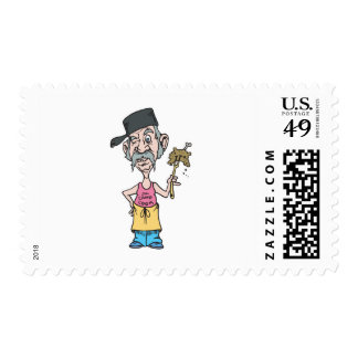funny camp cook with mush slop postage