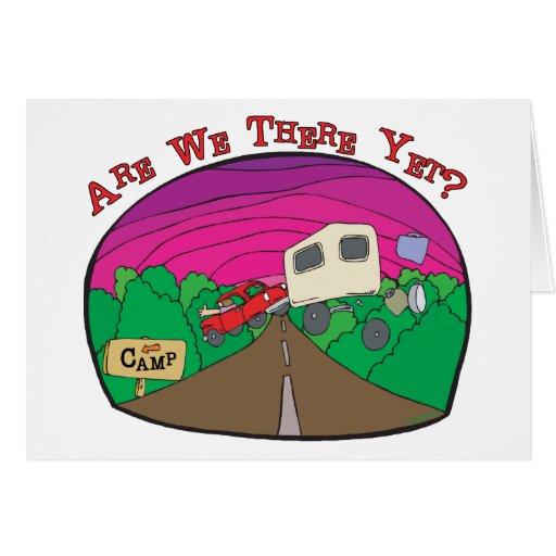 Funny Camping Card