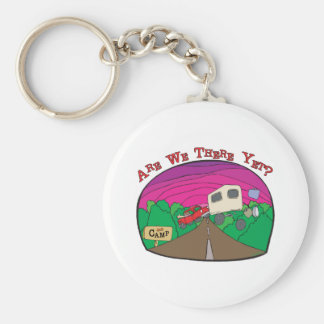 Funny Camping Keychain