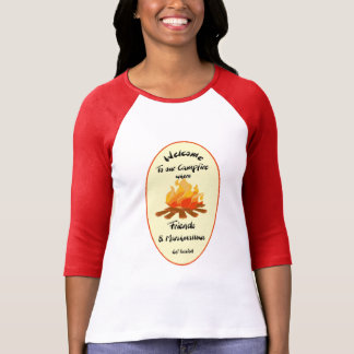 Funny Camping Quote Friends Toasted T-Shirt