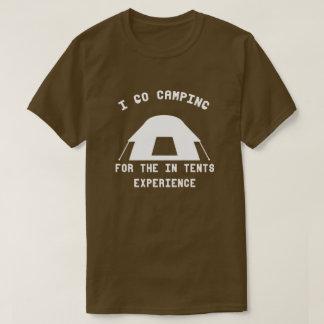 Funny Camping T Shirt