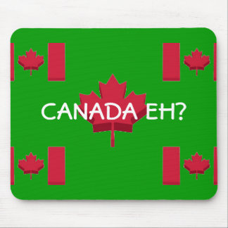 FUNNY CANADA EH MOUSE PAD