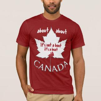 Funny Canada T-Shirt About Canada Souvenir Shirts