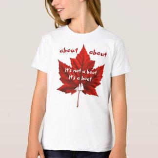Funny Canada T-Shirt Organic Canada Souvenir Shirt