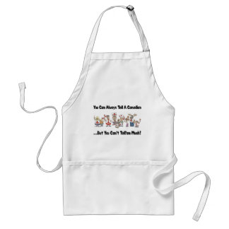 Funny Canadian Apron