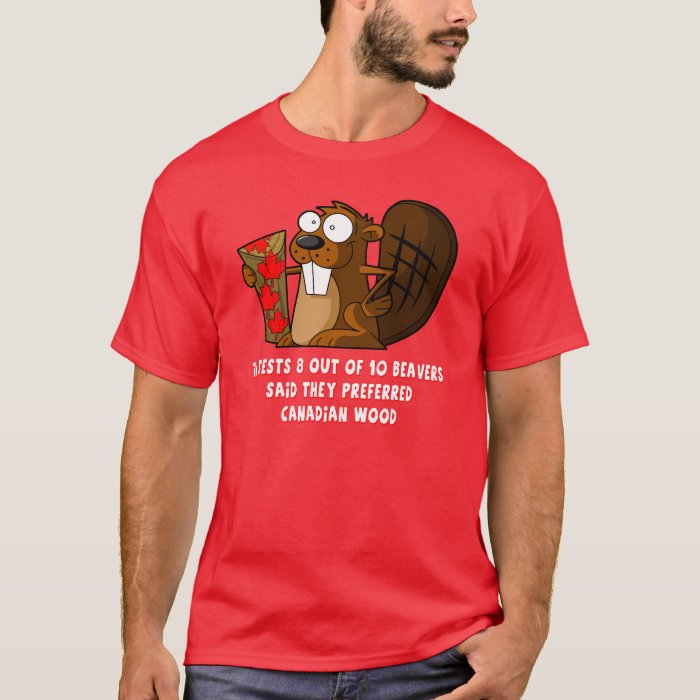 Funny Canadian Beaver T-Shirt