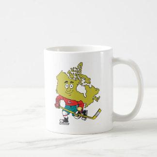 Funny Canadian Hockey Coffee Mug