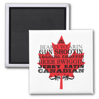 Funny Canadian Magnet